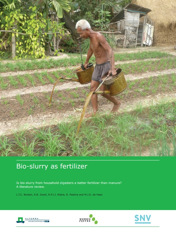bio slurry as fertilizer